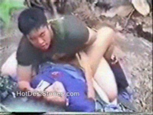Filmados trepando na mata do parque
