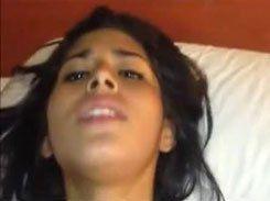 Novinha gostosa dando sua buceta no motel