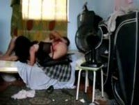 Novinha dando sua bucetinha na casa do safado