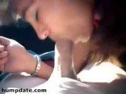 Deliciosa fazendo sexo oral em seu amante
