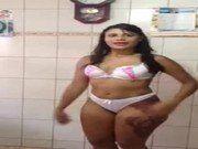 Mary Morena se exibindo no whatsapp