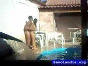 Vizinha gostosa fudendo na piscina